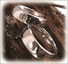 IM258 венчални и сватбени халки от платина